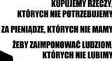 Konsumpcjonizm wpędza Polaków w spirale zadłużenia